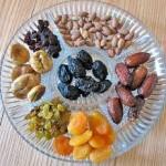 Tu Beshavat Seder Plate